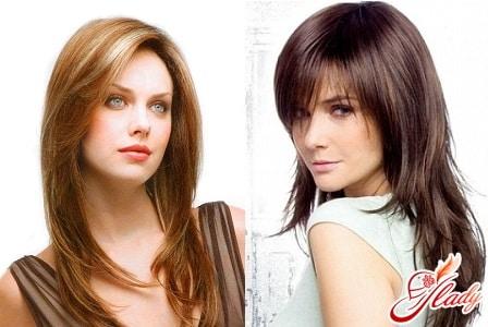 модный каскад для длинных волос