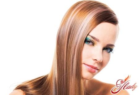 мягкое колорирование темных волос