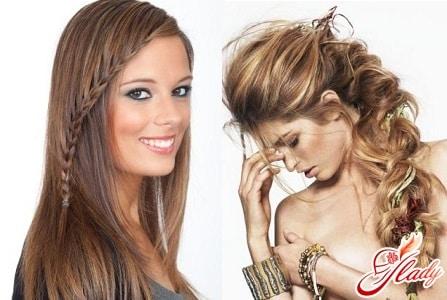 разные плетения кос для длинных волос