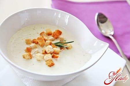 вкусный сырный крем суп