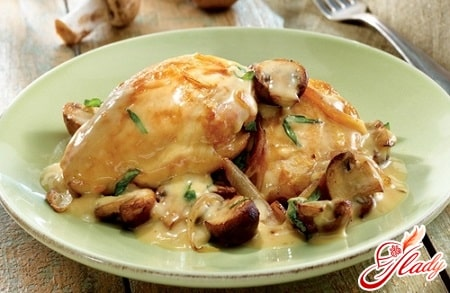 классический рецепт курицы в сметане