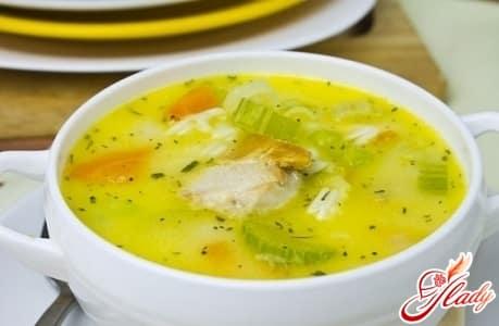простой рецепт куриного супа