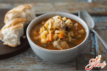 быстрый рецепт куриного супа