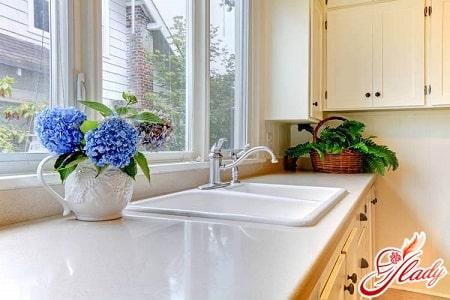 по фен шуй рядом с мойкой для посуды не должно быть плиты