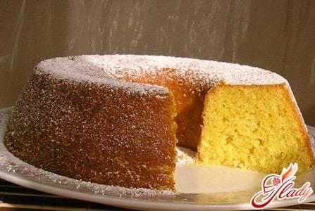 быстрый рецепт лимонного кекса