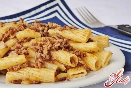рецепты макарон по флотски