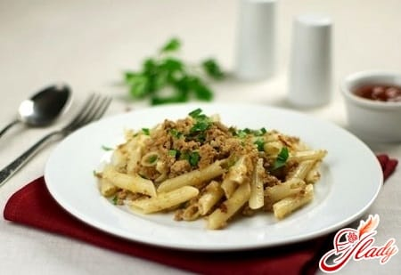 классический рецепт макарон по флотски