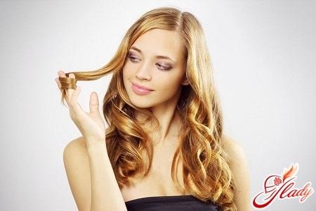 причины появления сухих кончиков волос