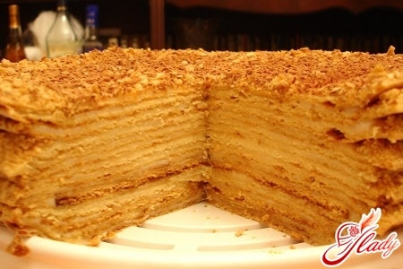 медовые торты рецепты