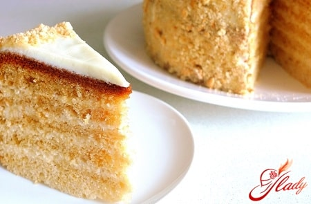 классический рецепт торта медовик
