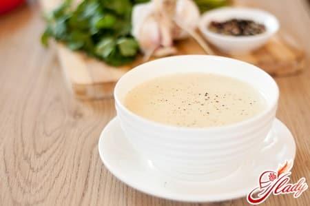 простой рецепт молочного супа