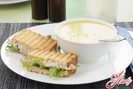 быстрый рецепт молочного супа с вермишелью