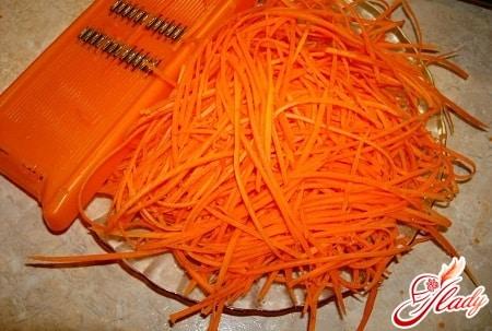 разные рецепты моркови по - корейски