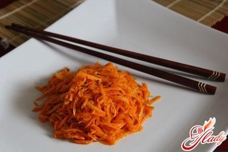 рецепт моркови по - корейски