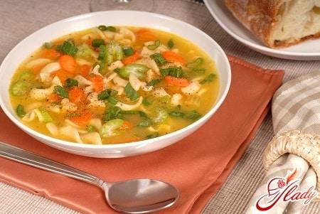 приготовление офощного супа