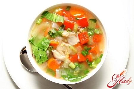 особенности приготовления овощного супа