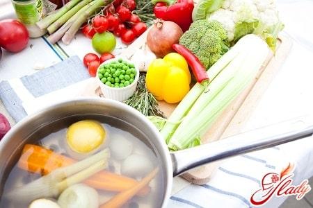 рецепты разных овощных супов