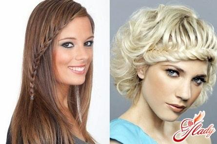 женские прически с косами