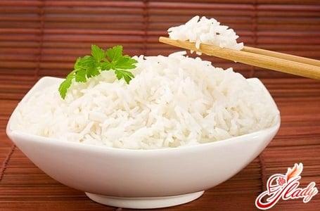 диета на рисовой крупе