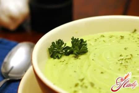 крем суп на сельдерее