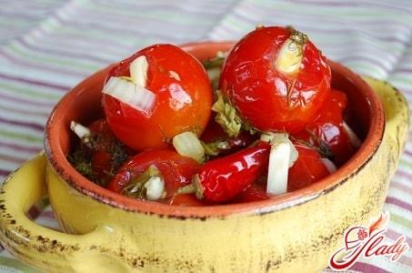 Засолить помидоры на зиму рецепты с фото