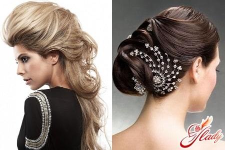 разные варианты праздничных причесок для длинных волос