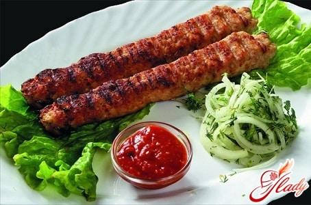 рецепт вкусного люля кебаб