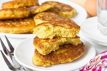 оладья из черствого хлеба