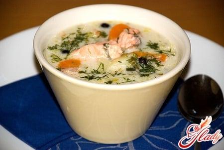 рецепт вкусного супа с семгой
