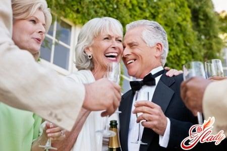 празднование серебряной свадьбы