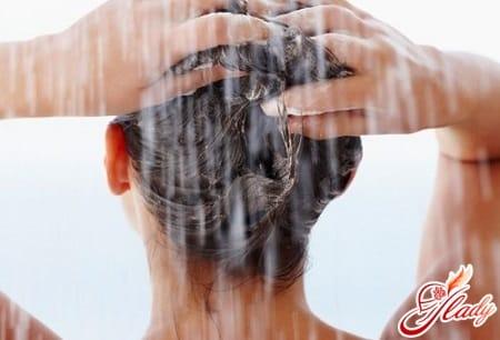 мытье головы домашним шампунем