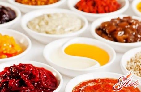 разные рецепты соусов к мясу