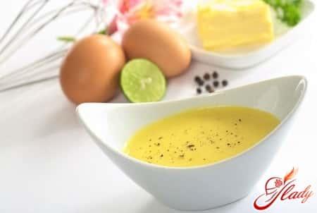 лимонно-горчичный соус