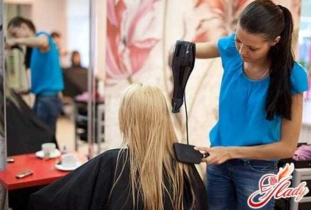 ламиирование волос в салоне