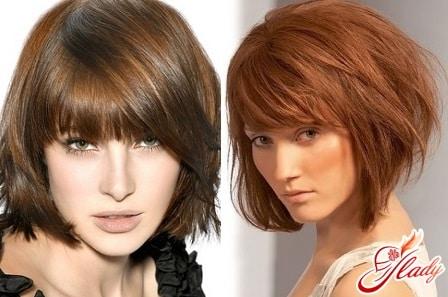 модные стрижки для жидких волос