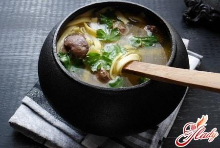 разные рецепты куриного супа