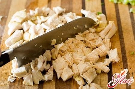 подготовка куриного филе для супа