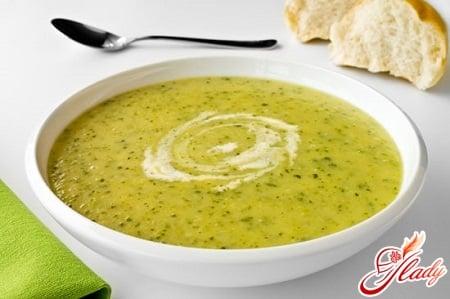 вкусный кабачковый суп пюре