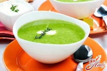 полезный кабачковый суп пюре