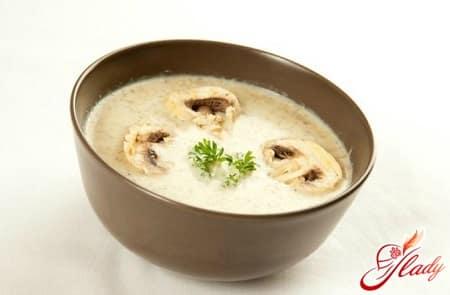 рецепт картофельного суп пюре
