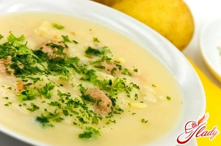 рецепт супа пюре из курицы