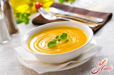 разные рецепты тыквенного супа пюре
