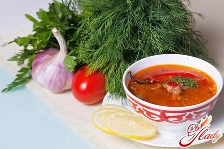 суп рецепты какой самый вкусный харчо