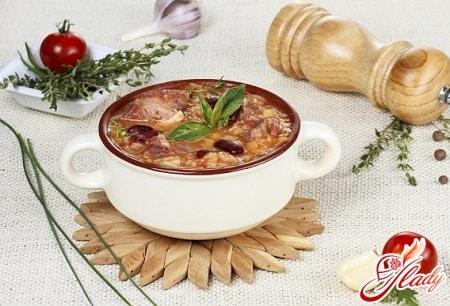 рецепт грузинского супа харчо