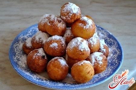 разные рецепты приготовления творожных пончиков