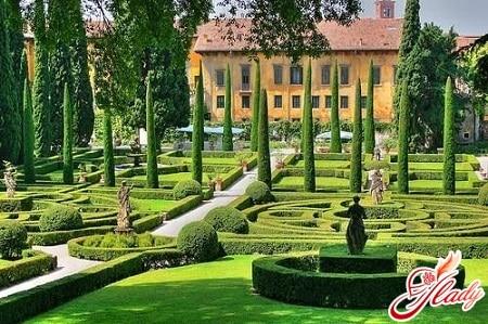 дворец и сад джусти