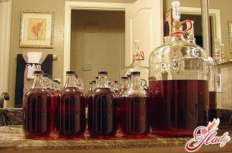 вкусное домашнее вино из варенья