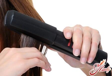горячий метод восстановления волос