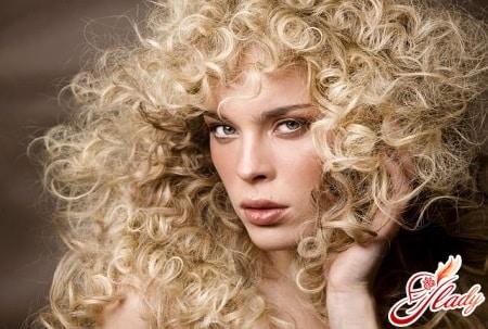 завивка волос разными методами