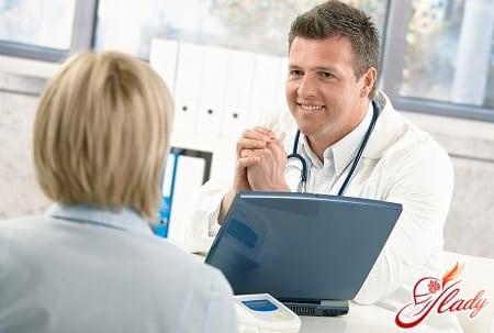 консультация с врачом для выбора метода лечения